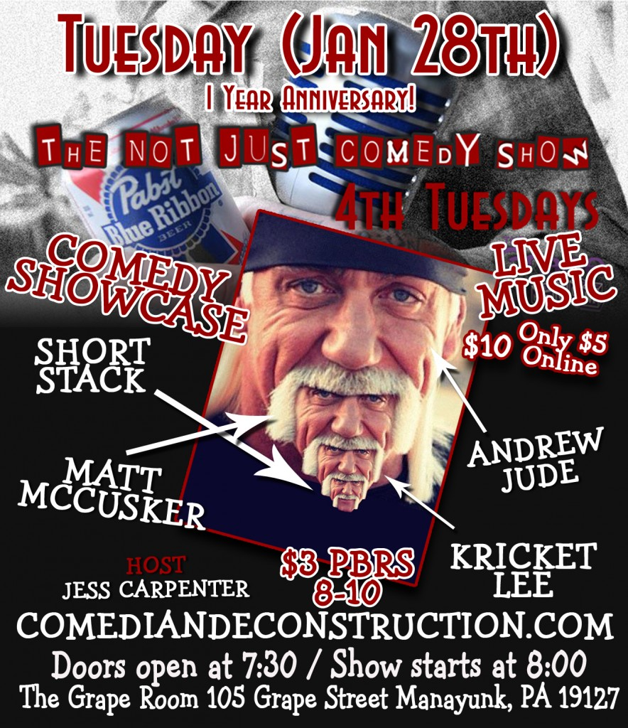 notjust comedy Jan28th